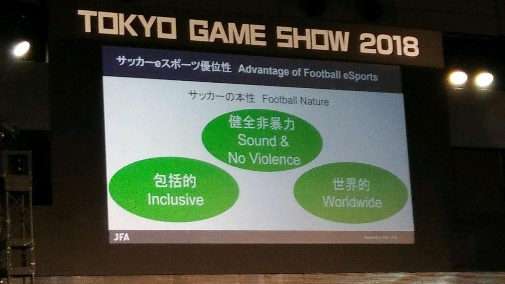 eスポーツフォーラムサッカーの本性とeスポーツが合致